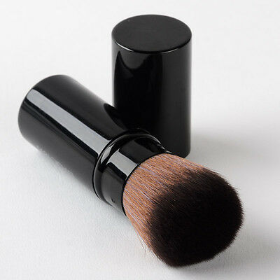 Kabuki Foundation Makeup Face Blush Powder Brush Retractable Cosmetic Beauty Q