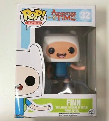 FUNKO POP Adventure Time FINN #32 vaulted