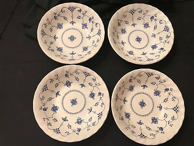 Myott Finlandia Staffordshire China Cereal Bowls (Set Of 4) Excellent Condition
