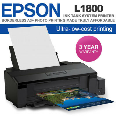BRAND NEW EPSON L1800 A3 Photo Ink Tank Printer