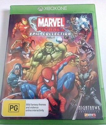 Marvel Pinball Epic Collection Vol. 1- Xbox One Game