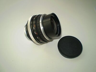 An Functional Lens Flektogon 2,8/35 by Carl Zeiss Jena In Good Condition
