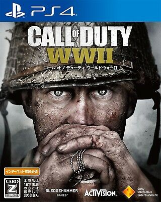 Call of Duty:WW2 Sony Playstation4 PS4 2017 WWII Factory Sealed Japan New F/S nu