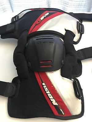 EVS VISION KNEE PAD BRACES SIZE SMALL (1515k)