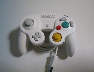 Used Official Nintendo White Classic Gamecube Controller DOL-003 Free Shipping