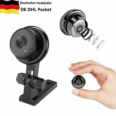 ip kamera 720p mini hd berwachung nachtsicht wlan netzwerk funk webcam wifi de eur 49 99. Black Bedroom Furniture Sets. Home Design Ideas