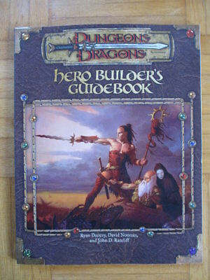 Dungeons & Dragons Hero Builder´s Guidebook TSR11647 English D&D Guide Source Bo