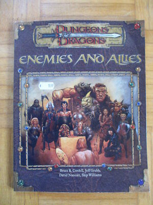 Dungeons & Dragons Enemies and Allies WTC11852 English D&D Guide Source Book d2