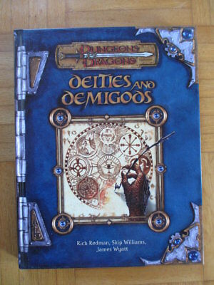 Dungeons & Dragons Deities and Demigods – 881650000 English Hardcover D&D Guide