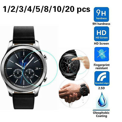 Premium Tempered Glass Screen Protector For Samsung Gear S2 S3 Frontier Classic
