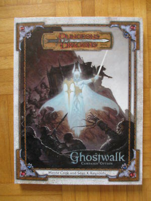 Dungeons & Dragons Ghostwalk Campaign Option – 885660000 English Hardcover D&D G