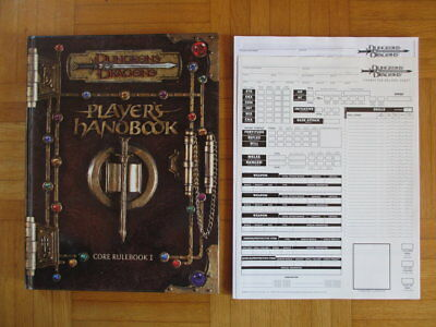 Dungeons & Dragons Player´s Handbook Core Rulebook I – TSR11550 English Hardcove