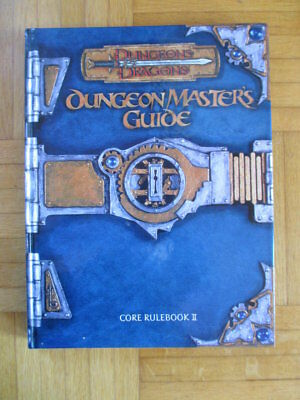 Dungeons & Dragons Master Guide Core Rulebook II TSR11551 English Hardcover D&D