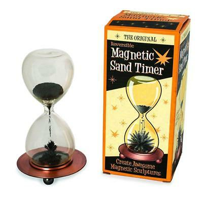 Magnetic Sand Timer Hourglass Magnetic Art Gift Magnetic Sand Magic Gift Clock