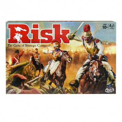 Risk - The Game of Strategic Conquest By Hasbro