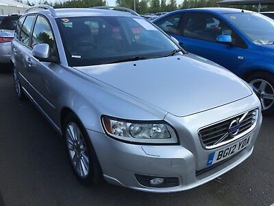12 Volvo V50 1.6 Drive 115Bhp Se Lux Edition **may 2019 Mot, 9 Srvcs, Leather!**