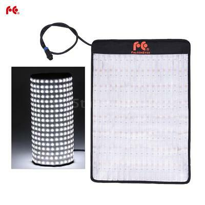 FalconEyes 432*LED Video Light Lamp Panel Rollable Dimmable for DSLR Camera N8X0