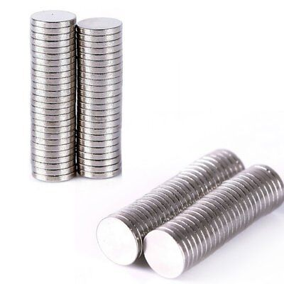 50-200Pcs Magnets Super Strong Round Disc Magnets Rare-Earth Neodymium Hot Sale