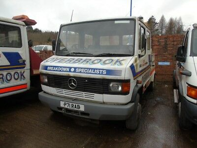 Mercedes 811 with Dyson Hydralift Speclift Recovery Truck Spares or Repairs