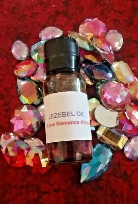 Come to Me Oil Jezebel Oil Love Attraction Amethyst Love Spell Ritual Wicca Oil