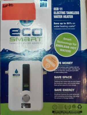 Ecosmart ECO 11 Best Electric Tankless Instant On Demand Hot Water Heater W03