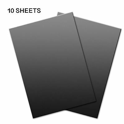 10pcs A4 Magnetic Sheets 0.5mm Flexible for Die Storage, Spellbinders and Crafts
