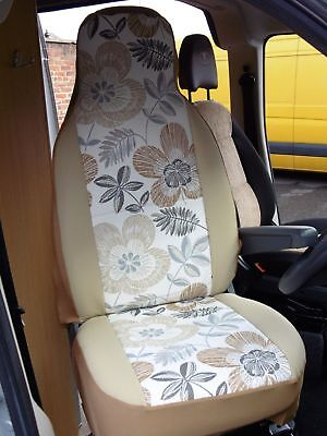 Suitable  For A Peugeot Boxer Motorhome, 2006, Seat Covers, Nancy Mh-194