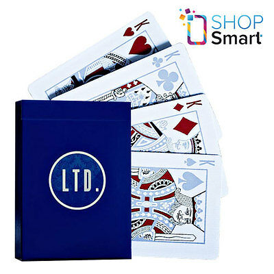 Ellusionist Ltd Blue Limited Bicycle Playing Cards Deck Magic Tricks Uspcc New