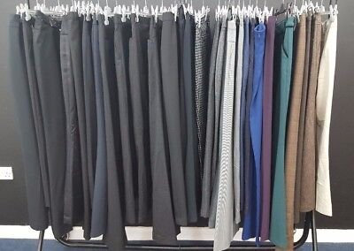 Job Lot Of 30 Smart Formal Ladies Trousers;mixed Sort, Sizes, Styles;