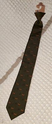 NWT Vintage Beau Brummell Snapper Clip on Neck Tie Boys Collectible (B12)