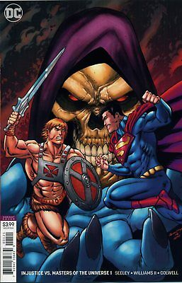 Injustice Vs The Masters Of The Universe #1 Variant - F341 - Preorder 18.07.2018