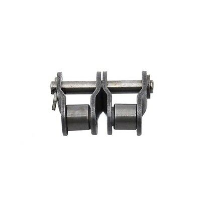 #50-2 10A-2 Double Strand Roller Chain Connecting Link Half Link x 2Pcs