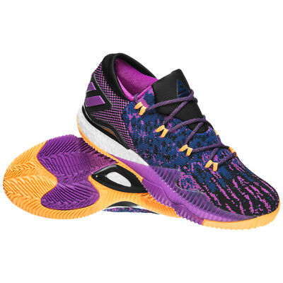 size 40 c4e72 0f220 Adidas Crazylight Boost Low 2016 Swaggy P Nick Young Lakers Shoes BB8175 NEW