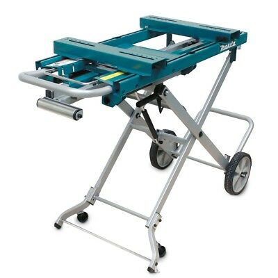 Makita Wst05 Mitre Saw Trolley Stand Portable Light-Weight Easy Assembling