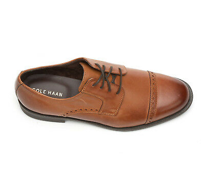 Cole Haan C25806 Dustin Cap Brogue Ii British Tan Men's New With Box