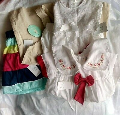 Kids 3 - 24 Months Lot of 2 Brand New and 2 Used Preloved Childrens  (UK Seller
