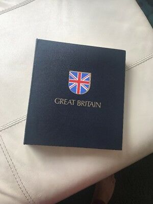 Great Britain Stamps Album - Empty. Used.