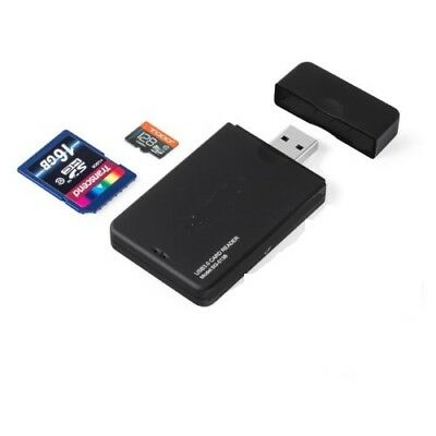Ultra High Speed 2 in 1 USB 3.0 Memory Card Reader Flash Adapter Micro SD SDXC