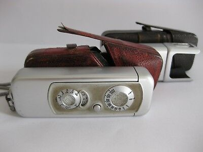 Minox 16mm Sub-miniture camera, flash & cases - fully tested & working