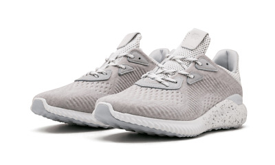 best website f1871 a9708 Mens ADIDAS Reigning Champ x Alphabounce Size 8.5 Clear Grey Sneakers NEW