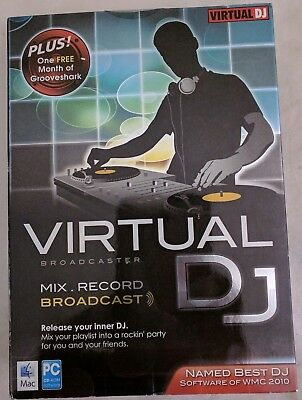 Virtual DJ Broadcaster for Mac/Windows  with Free Shipping