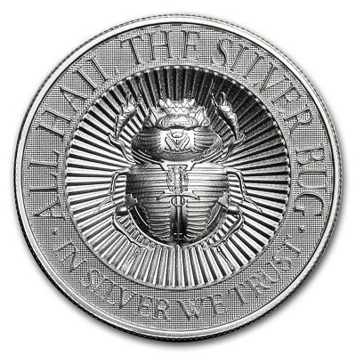 1st SERIES ~ THE SILVER BUG ~ SCARAB ~ 2~OZ. PURE .999 SILVER ROUND~ $56.88 ~BUY