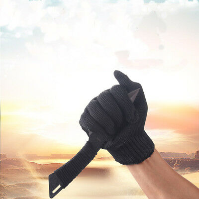 One Pair Working Safety Gloves Cut-Resistant Hand Protection Useful Powerful