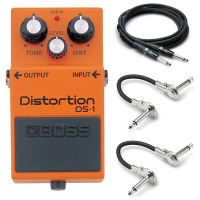 New Boss DS-1 Distortion Guitar Effects Pedal