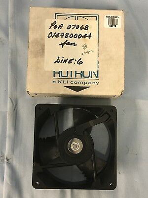 NEW in Box Comair Rotron 028868 Muffin XL Axial Fan 12VDC .5A 6W Metal Housing