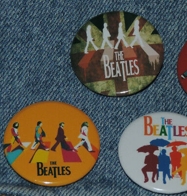 THE BEATLES  5 Pins Button Badge Ø38mm