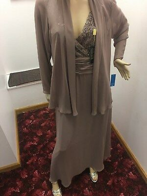 Brand New With Tags Nox Tan Mother Of The Bride Two Piece Set 2XL