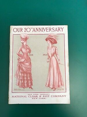 National Cloak and Suit Company 1908 Fully Illustrated Ready To Wear Catalog