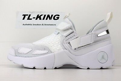 28e35168ccb0 Nike Air Jordan Trunner LX BG GS White Pure Platinum Training 897996 100   115 LF