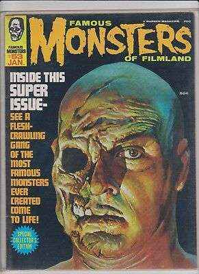Famous Monsters of Filmland  53    F/VF